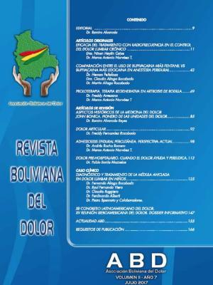 Revista Boliviana del Dolor