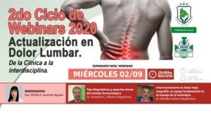 Webina Actualización en Dolor Lumbar